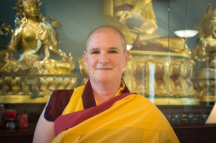 A photo of Gen Kelsang Rigden